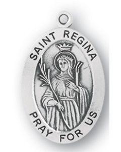 St. Regina SS medal oval