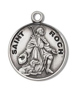 St. Roch SS medal round