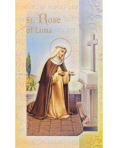 St. Rose of Lima Mini Biography