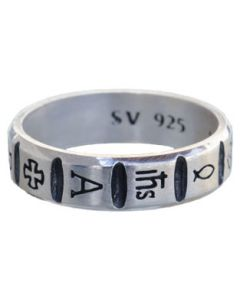 Christian Symbols Ring