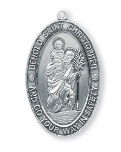 SS St Christopher Large Oval