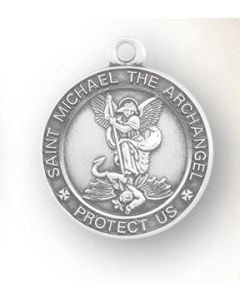 St. Michael SS medal round