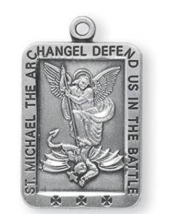 St. Michael SS medal rectangle