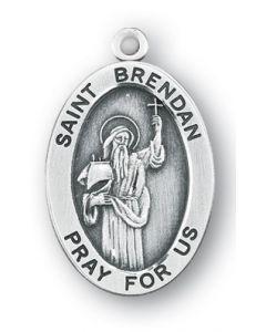 St. Brendan SS oval medal