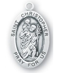 St. Christopher SS Oval Medal