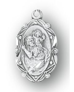 St. Christopher Medal SS