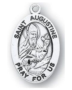 St. Augustine SS Oval Medal
