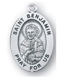 St. Benjamin SS oval medal