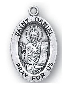 St. Daniel SS medal oval