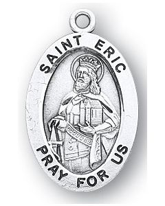 St. Eric SS medal oval