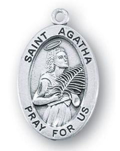 """St. Agatha SS 18"""" chain"""