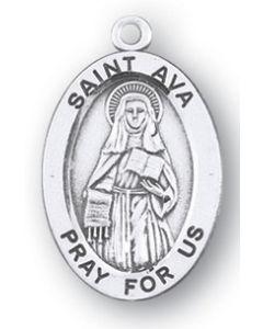 St. Ava SS medal oval