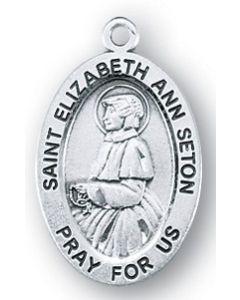 St. Elizabeth Ann Seton SS medal oval