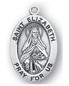 St. Elizabeth of Hungary SS medal oval