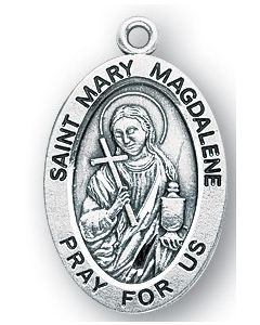 St. Mary Magdalene SS medal oval