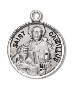 St. Camillus SS round medal