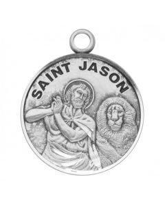 St. Jason SS medal round
