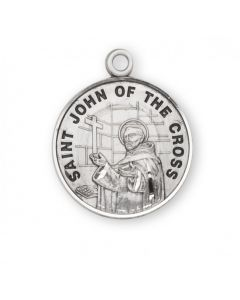 St. John of the Cross SS medal round