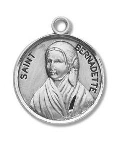 St. Bernadette SS medal round