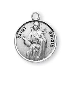 St. Brigid SS medal round