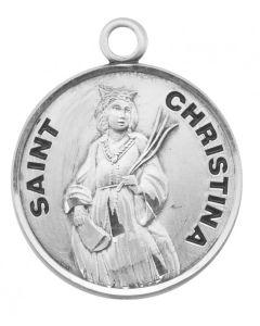 St. Christina SS medal round