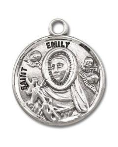 St. Emily SS medal round