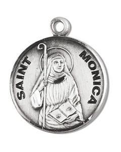 St. Monica SS medal round
