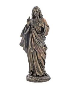 Sacred Heart of Jesus Statue 10.5""