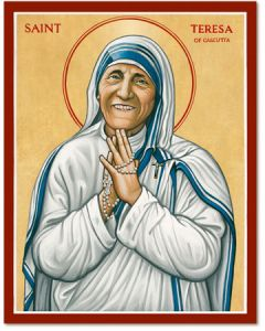 St. Teresa of Calcutta Icon Plaque