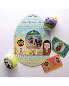 Shining Light Saints Stories Easter Egg Wraps Kit