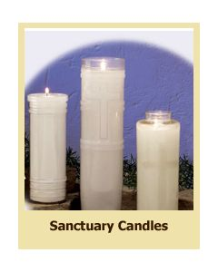 Sanctuary Candle 7 Day Plastic