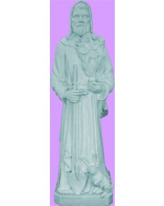 St. Fiacre Vinyl Statue