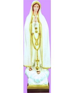 """Our Lady of Fatima 24"""" Vinyl Statue"""
