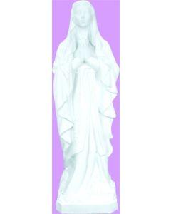 """Our Lady of Lourdes 24"""" Vinyl Statue"""