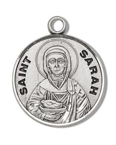 St Sarah SS medal round
