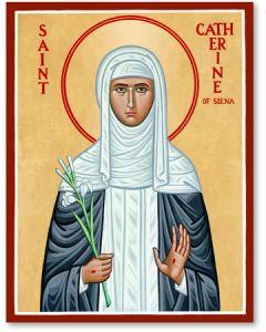 St. Catherine Icon Plaque