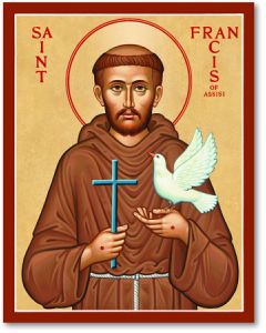 St. Francis Icon Plaque