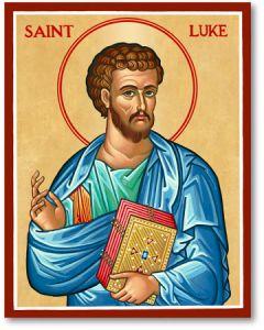 St. Luke Icon Plaque