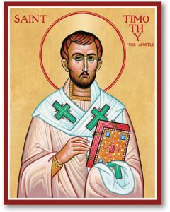 St. Timothy Icon Plaque