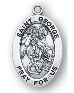 St. George SS medal oval