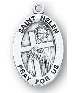 St. Helen SS medal oval