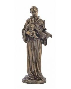 """St. Anthony and Child, Statue 10.5"""""""