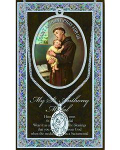 Pewter St. Anthony Medal