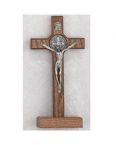 Standing St. Benedict Crucifix