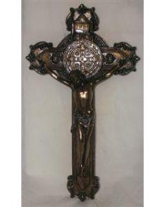 """St. Benedict Crucifix, 11"""""""