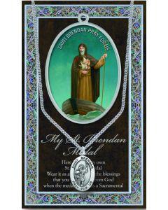 Pewter St. Brendan Medal