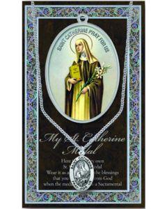 Pewter St. Catherine Medal