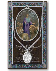 Pewter St. Daniel Medal