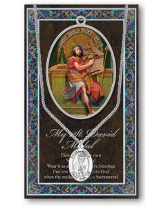 Pewter St. David Medal