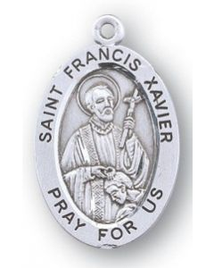 St. Francis Xavier SS medal oval